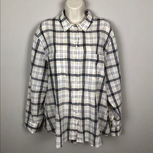 Madewell Plaid Button-Down Shirt